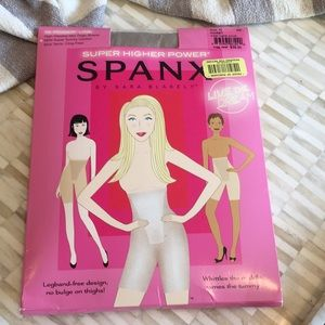 Spanx high waisted mid thigh shaper